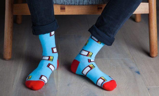 colourful socks HK
